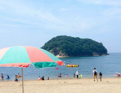 "Make the most time for summer activites at Sensuijima Island! ""Tomonoura Beach"""