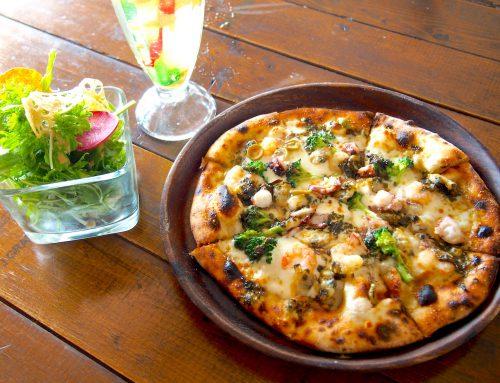 石窯ピザをお伴にビーチカフェでチルアウト – Kitchen Natty