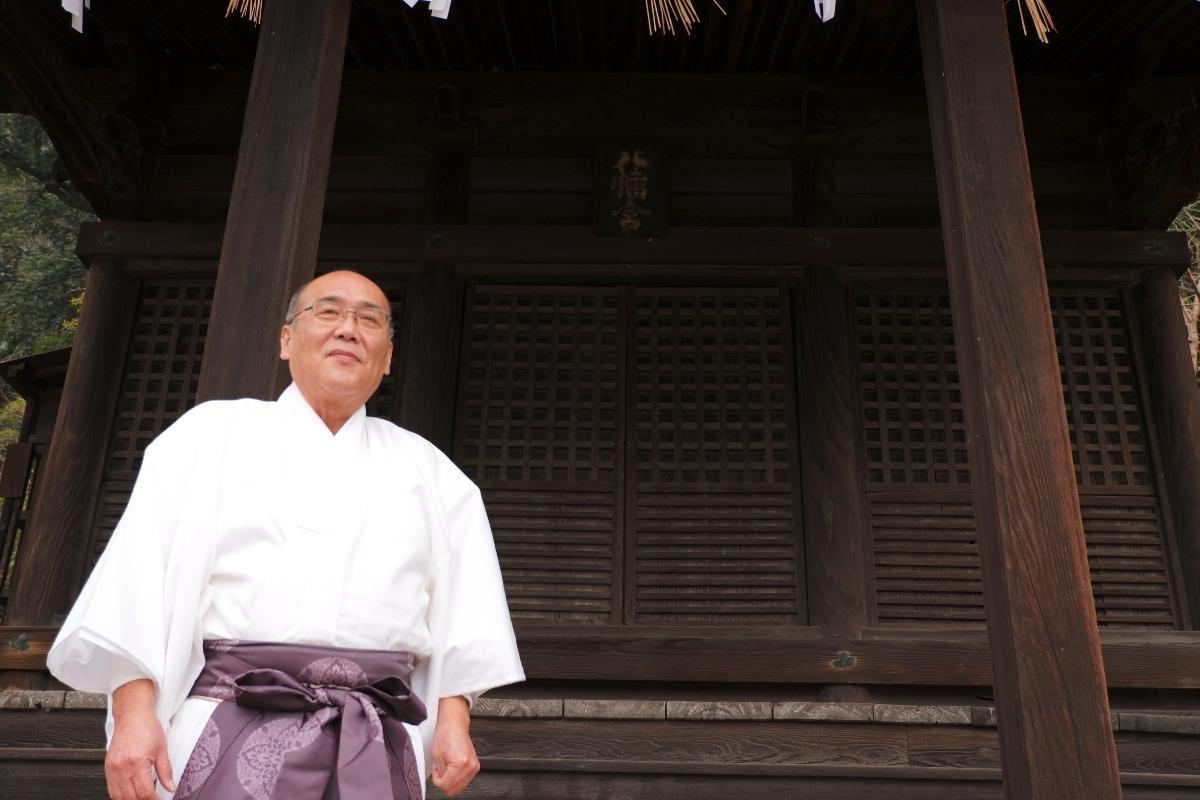 鞆町 平地区代表<br>表 章範さん、坂本 弘さん
